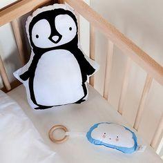 A Little Lovely Company Pinguin sierkussen Pinguin (34x30 cm)? Bestel nu bij wehkamp.nl