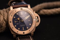 HANDS-ON: The Return of the Bronzo – Panerai introduces blue-dialled Luminor Submersible PAM 00671