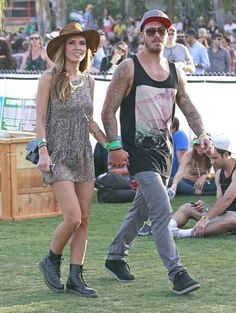 Celebrity Style at Coachella by @mesVoyagesParis #coachella2013 #coachellastyle #VIP #streetbait #streetstyle