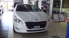 Luxury Peugeot 508 car.