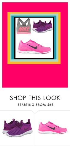 """""""colour nikes"""" by miss-perfiet on Polyvore featuring NIKE"""