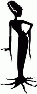 Silhouette Design Store - View Design #67848: bride of frankenstein silhouette