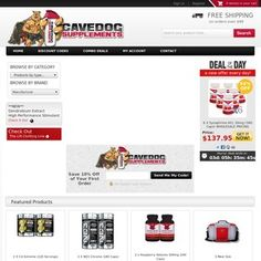 CaveDog Supplements Canada is your number one source for supplements in Canada. Bodybuilding supplements, powerlifting supplements, weight loss supplements.