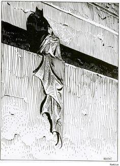 Moebius' Visions of American Superheroes