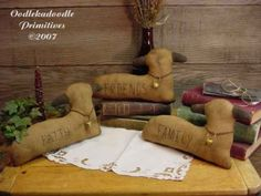 Primitive Spring Sheep Faith Family Friends by oodlekadoodlePrim, $7.20