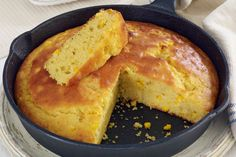 This moist, flavorful cornbread is naturally sweetened with cream-style corn. It's an excellent buttermilk cornbread to serve with greens or chili.