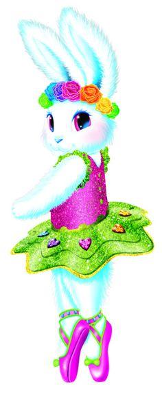 Ballerina bunny   Lisa Frank Party