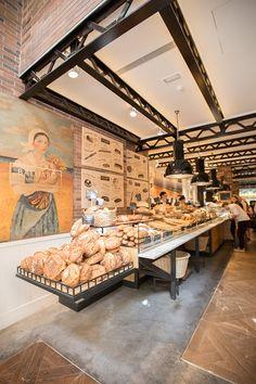 Some restaurants ideas to your restaurant ! Restaurant Design, Bakery Shop Design, Luxury Restaurant, Coffee Shop Design, Cafe Design, Cafe Restaurant, Design Design, Bakery Cafe, Bakery Store