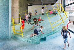 Проект The Brutalist Playground в музее Vitra, 2017