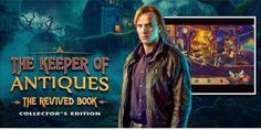 Logo of The Keeper of Antiques: The Revived Book Collector's Edition. In The Keeper of Antiques: The Revived Book PC/Mac game you will relish with it's cheery finish upon playing through loads of superb excellence placings.