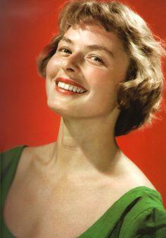 Movie Hairstyles - Ingrid Bergman