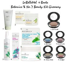 Giveaway of the Month: Boots Botanics & No.7 Beauty Kit - LaBelleMel