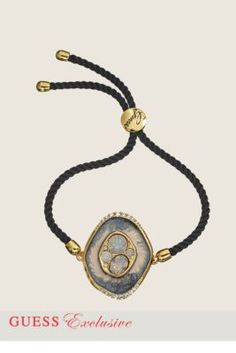 Geode Cord Bracelet