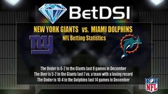 New York Giants vs Miami Dolphins Odds | NFL Football Picks