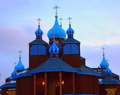 Image result for  Russian designed churches in Alaska