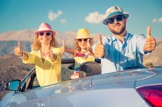Happy family travel by car. people having fun in the mountains. Travel Outfit Summer, Casual Summer Outfits, Packing Tips For Travel, Travel Essentials, Europe Spring, People Having Fun, Dinners For Kids, Happy Family, Lake Tahoe