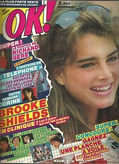 Brooke Shields covers OK! magazine N°394, 1983.