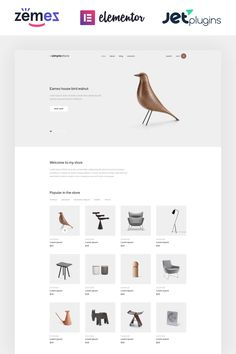 Promote Your Craft Manufacture with the Home Decor Template for ElementorEvery successful store and a start-up business places the creation of a website at the Business Place, Start Up Business, Minimal Theme, Wordpress Theme Design, Web Design Services, Home Decor Online, Website Template, Shops, Templates