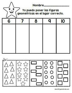 Los nmeros 1-10 (Spanish Numbers 0 to 10 Fluency) students learning the numbers 1-10- 110+ pages in Spanish for Pre K and Kindergarten. Rescurso para estudiantes en pre-escolar o kinder aprendidendo los numeros 1 al 10, o a contar. Incluye 119 hojas con