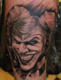 3d-hd-tattoos.com Gangster head shoulder design tattoos men | Beautiful Tattoo design Ideas.