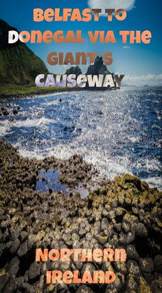 Northern Ireland – Belfast to Donegal via the Giant's Causeway. The Giant's Causeway is a truly spectacular sight and a must-see for anyone visiting Ireland. Located in Antrim, it's the result of a volcanic eruption over 60 million years ago, the Causeway is famous for the polygonal columns of layered basalt and is an Area of Outstanding Natural Beauty. Read the full blog post at http://www.divergenttravelers.com/road-trip-routes-ireland/
