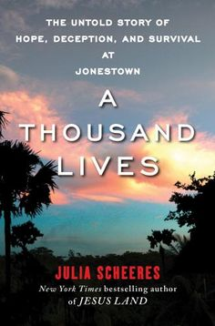 I finished listening to A Thousand Lives: The Untold Story of Hope, Deception, and Survival at Jonestown (Unabridged) by Julia Scheeres, narrated by Robin Miles on my Audible app. Try Audible and get it free. Book Club Books, Good Books, Books To Read, My Books, Reading Lists, Book Lists, Page Turner Books, Will Turner, Love Book
