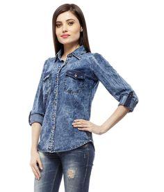Stylestone Blue Denim Shirts