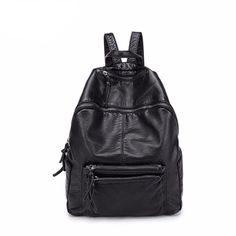 Cheap backpack travel bag, Buy Quality leather women backpack directly from China women backpack Suppliers: Bolish Soft PU Leather Women Backpack Waterproof Gilrs School Backpack Larger Size Daily Backpack Travel Bag Backpack Travel Bag, Leather Backpack, Pu Leather, Fashion Backpack, School Backpacks, Women's Backpacks, Cheap Online Shopping, Popular Bags, Casual Bags