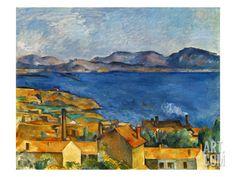 Cezanne:Marseilles,1886-90, by Paul Cézanne