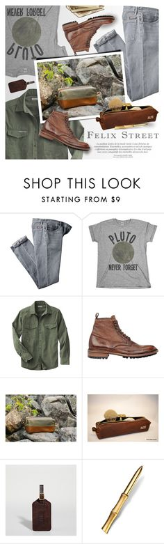"""""""FELIX STREET - He's an adventurer"""" by an1ta ❤ liked on Polyvore featuring Public Library, Barneys New York, L'Objet, vintage, men's fashion and menswear"""