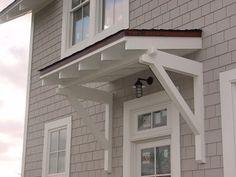 Roof above door