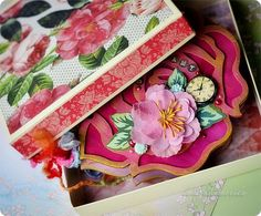 Decorative Boxes, Shapes, Album, Decorative Storage Boxes, Card Book