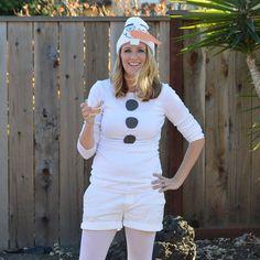DIY Olaf Halloween Costume   Teal In Motion