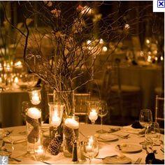 Night Time Wedding Themes | Night time sticks | Wedding Ideas