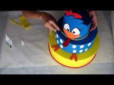 Bolo fake galinha pintadinha passo a passo - YouTube Diy Birthday Decorations, Baby Shower, Cake Designs, Minions, Bolo Fake, Birthdays, Birthday Cake, Cricut Craft, Youtube