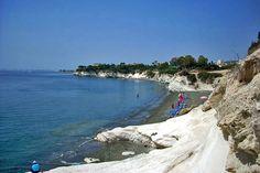 Governor's Beach Limassol, Cyprus   Weather2Travel.com #travel #cyprus #beaches