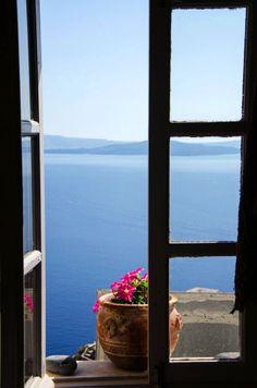 Window to Blue, Oia, Santorini