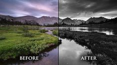 B&W - Photoshop tutorial