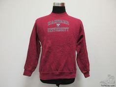 Cotton Exchange Harvard Crimson Crewneck Sweatshirt sz Youth XL Extra Large NCAA #CottonExchange #HarvardCrimson