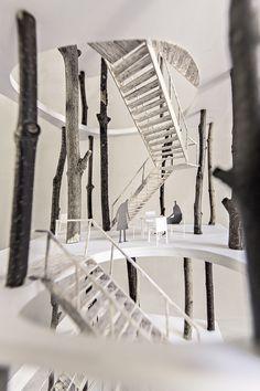 FORREST TOWER - KATOxVictoria. Arquitectura. Maquetas