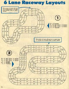 4382f52bfed9af47c6f3490be022d6be slot cars manual lane spacing and routing measurements slot car stuff pinterest aurora model motoring wiring diagram at gsmx.co