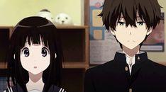 Anime Films, Anime Characters, Studio Ghibli, Hyouka Chitanda, Manga Anime, Anime Art, Cool Anime Guys, Kyoto Animation, Cartoon Profile Pictures