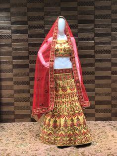 Lehanga choli Facetime, Saree, Gowns, Live, House, Bags, Shopping, Dresses, Fashion