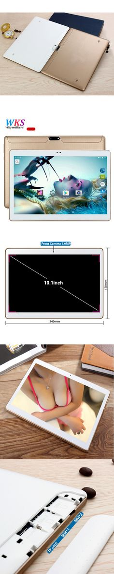 10.1 inch 3G 4G Lte Smart Tablet PC Android 5.1 Octa Core 4GB RAM 64GB ROM Dual SIM Cards call Kids Gift MID Tablets pcs 10 10.1