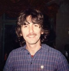 """George ca. 1981 during the time he was working on the album """"Somewhere In England""""  """"George was a very close friend, George was a very special person. I loved him."""" - Denny Laine"""