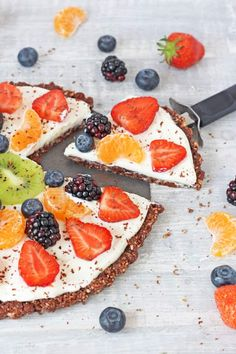 Looking for a delicious and healthy dessert that the whole family can enjoy? Try my gluten free, no bake Chocolate Fruit Pizza!