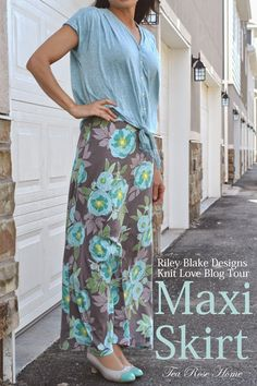 Tea Rose Home: Riley Blake Designs Knit Love Blog Tour + Skirt Giveaway! #thecottagegarden #rileyblakedesigns #tearosehome