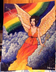 Essays on goddess irisa