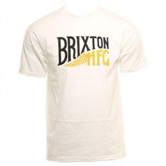 Brixton Clothing Mens Shirt Coventry White