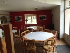 cookery school dining room